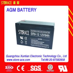VRLA LED Battery Sr9-12 AGM UPS Battery 12V 9ah pictures & photos