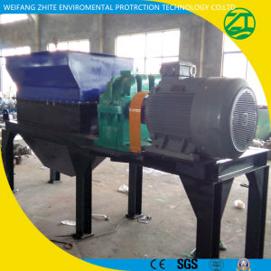 Single Shaft/Waste Plastic Recycling/Wood/Tire/Foam/Kitchen Waste/Municipal Waste/Scrap Metal/Animal Bone Shredder pictures & photos