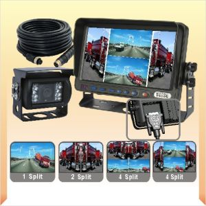 Backup Camera System with Quad Monitor pictures & photos