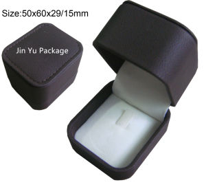 Round Luxury Fake Leather Gift Jewelry Box for Bracelet with Custom Logo pictures & photos