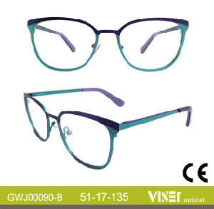New Modern Design Fashion Metal Optical Frames (90-C) pictures & photos
