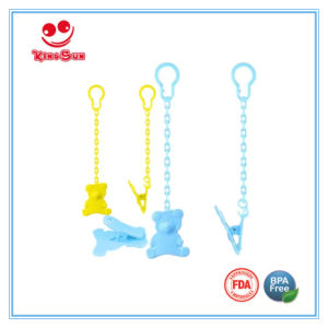 BPA Free Animal Baby Pacifier Clips for Newborn pictures & photos