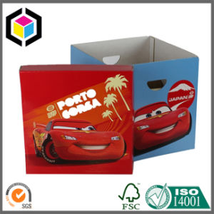 Folding Archive File Cardboard Paper Storage Box with Lid pictures & photos