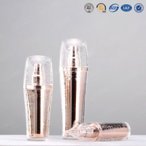 Fashion New Plastic Acrylic Luxury Cosmetic Cream Lotion Pump Bottle pictures & photos