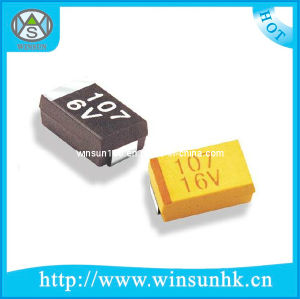 RoHS Certification Case-B Type Chip/SMD Tantalum Capacitor