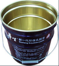 5 Gallon Metal Tin Pail for Chemical Use/Paint Pail (cost innovated)