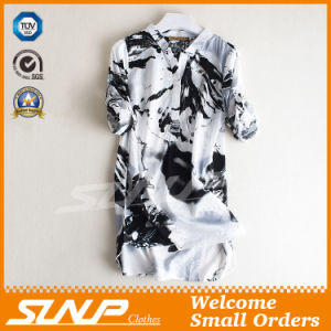 2016 OEM Printing Ladies Fashion Blouse