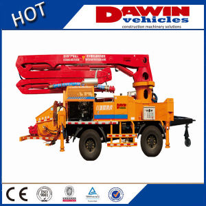 21m 25m 28m 32m Diesel Engine Trailer Concrete Pump Boom pictures & photos