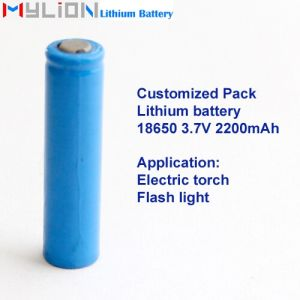 Hight Quality Lithium Battery for Flashlight 18650