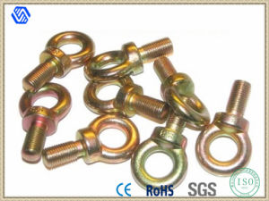Hot Sale High Quality Carbon Steel Color-Zinc Plated Eye Bolt pictures & photos