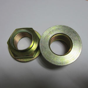 Car Wheel Stake Nut Flanged CNC Machining Forging Auto Parts pictures & photos
