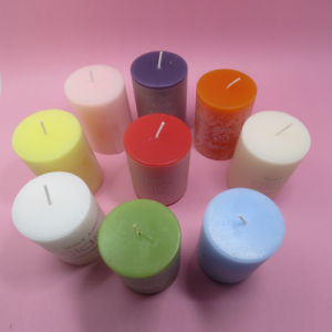 Cheap Wax Pillar Candle Religous Pillar Candle pictures & photos