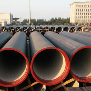 Centrifugal ISO2531 450mm Class K9 Cement Lined Ductile Cast Iron Pipe pictures & photos