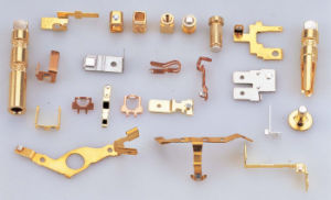 Coppery Sheet Metal Products for Stamping Parts for Customized pictures & photos