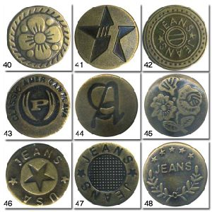 Brass Jeans Button pictures & photos