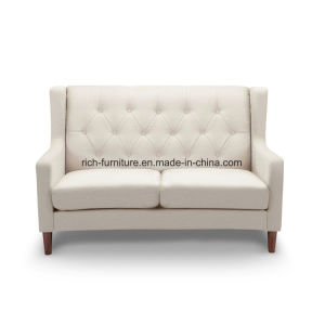 Nordic Korean Simple Design Leather Fabric Home Office Sofa pictures & photos