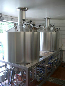 Automatic Beer Brewing Equipment for 20bbl 2 Vessel