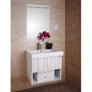 Oppein Melamine Small Bathroom Cabinet No Top (OP14-001) pictures & photos