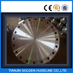 Carbon Steel Forged Pipe Blind Flange pictures & photos