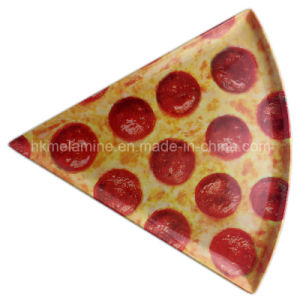Round and Triangle Melamine Pizza Plate (PT3163) pictures & photos
