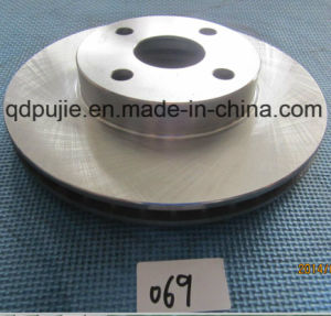 Auto Spare Parts Vented Car Brake Disc (PJCBD012) pictures & photos