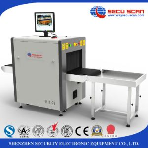 Secuscan At5030c Hotel X Ray Baggage Detector Parcel Inspection Machine pictures & photos