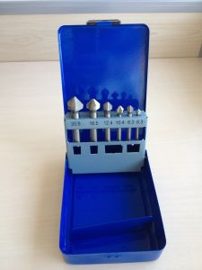 6PCS HSS Countersink Drill Bits Set with Metal Box (JL-HCDS6) pictures & photos
