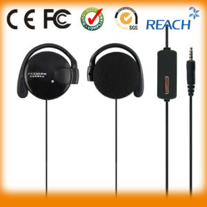 Stereo Earphone Ear Hook Headphone Headset Microphone pictures & photos