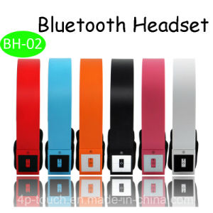 Fashionable Bluetooth Earphone with TF Card Slot (BH-02) pictures & photos