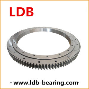 Single-Row Four Point Angular Contact Slewing Ball Bearing External Gear 9e-1b25-0486-1063 pictures & photos