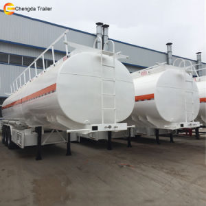 Chengda Trailer 3 Axles 40000L Fuel Oil Tanker Semi Trailer pictures & photos