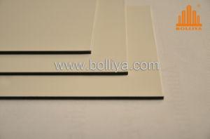 Gloss Glossy Matt White Aluminium Sign Sheet for Sign Writing pictures & photos