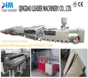 PVC Foam Door Plate Extrusion Line pictures & photos