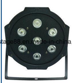 Cheap Price 7X10W RGBW LED Slim Flat PAR Light pictures & photos