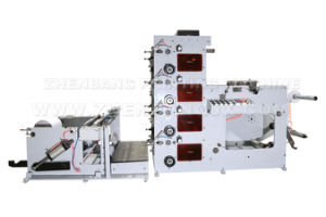High Speed Printing Machine for Hamburger Paper Bag pictures & photos