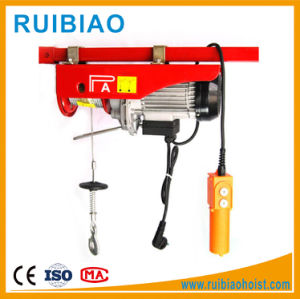 Construction Material Lifting Wire Rope Hoist, Mini Electric Hoist pictures & photos