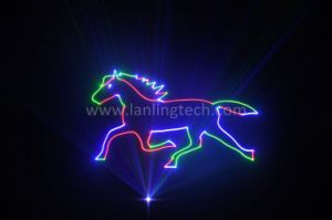 1W RGB Disco DJ Stage Animation Laser for Nightclub Party pictures & photos