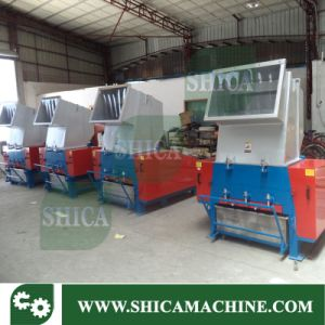 Plastic Crusher with Silo and Blower pictures & photos