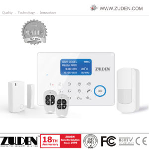 Intelligent Home Security Wireless GSM Burglar Alarm System with APP pictures & photos