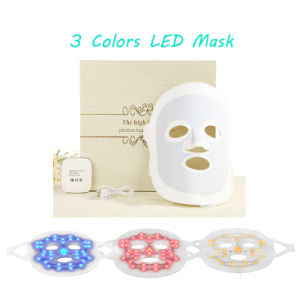 High Quality Skin Care Skin Rejuvenation PDT LED Light Therapy 3 Colors Peel off Facial Mask pictures & photos