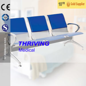 Low-Price Stainless Steel Hospital Accompaying Waiting Chair (THR-YD1030) pictures & photos