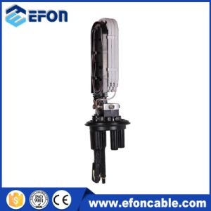 Heat Shrinkable Type 1 in 3 out 96 Core Fiber Optic Splice Closure pictures & photos