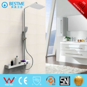 Brass Body Stainless Steel Bar Shower Set (BF-61530) pictures & photos