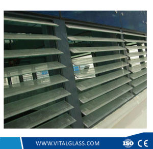3-6mm Colored Tinted Louver Glass for Building Window pictures & photos