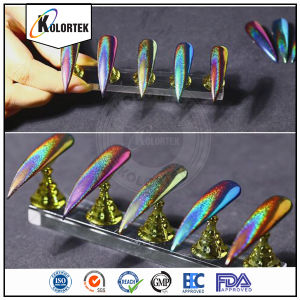 Nail Art Glitter Color Change Laser Holographic Powder pictures & photos