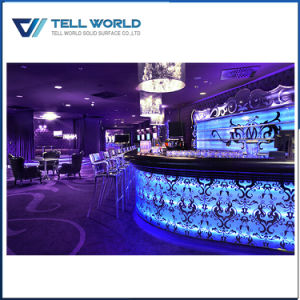 Translucent Artificial Marble Wine Home LED Bar Counter pictures & photos