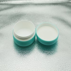 Double Wall Plastic Cosmetic Jar for Skin Care Product pictures & photos