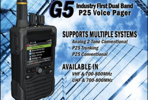 P25 Fire Voice Pager, VHF&700-800MHz Fire Pager for Firefighter pictures & photos