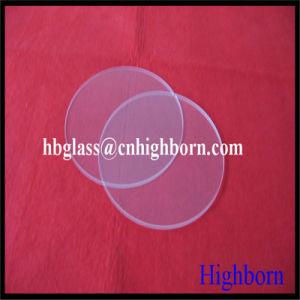 High Quality Round Silica Quartz Glass Plate pictures & photos