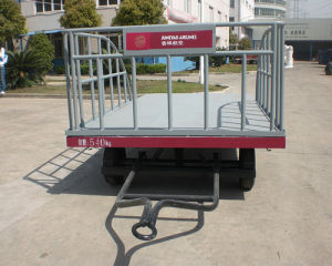 Three Rails Airport Aircraft Baggage Carts pictures & photos